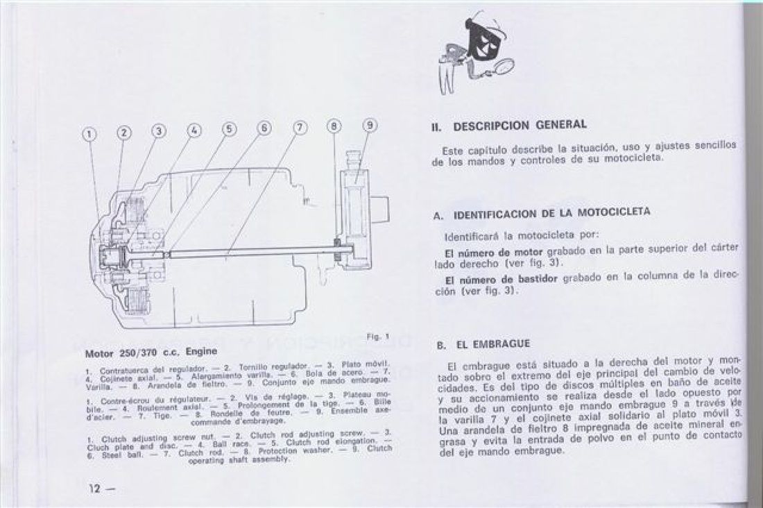 Bultaco Wiring Schematic Engine Diagram Trusted Diagrams Frontera Mkii 250 And 370 Handbook Www Retrotrials Com 03 Suburban Ignition Switch